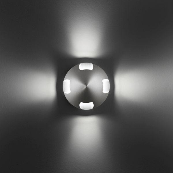 Bel Lighting Bolas X 10W BL 8028X.W73.32 Eloxiertem aluminium