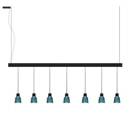 Bover Drop&Drip Drip Linear S/07L 1-10V/Dali/Push BV 25957219039 Noir ébène