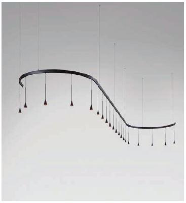 Bover Skybell Modular S/20L/40 Dimmable 0/1-10V/Dali/Push BV 35726219056 Noir ébène