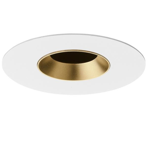 Flos Architectural Light Sniper Fixed Round LED AN 03.4662.GL Or depoli
