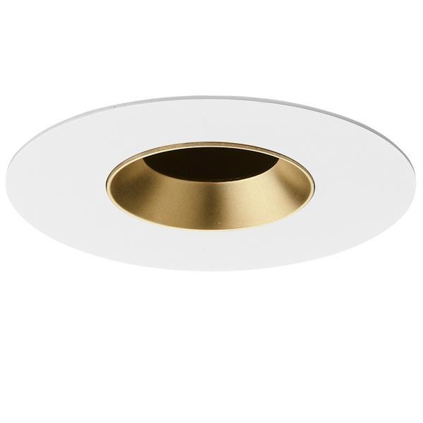 Flos Architectural Light Sniper Fixed Round LED AN 03.4663.GL Mattiert gold