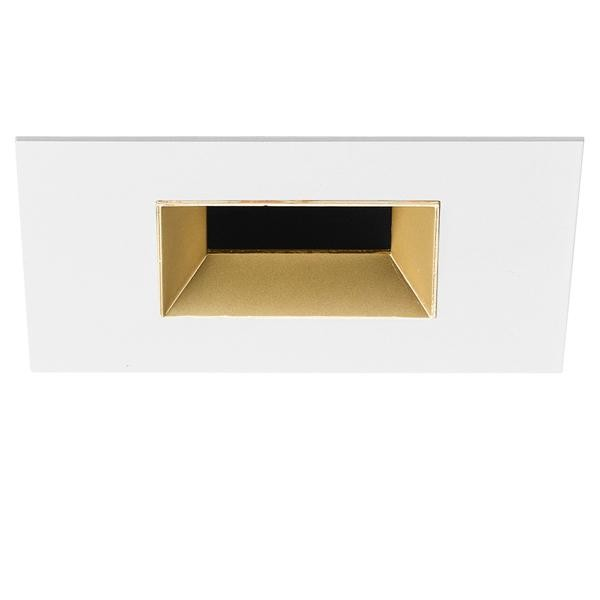 Flos Architectural Light Sniper Fixed Square LED AN 03.4669.GL Mattiert gold