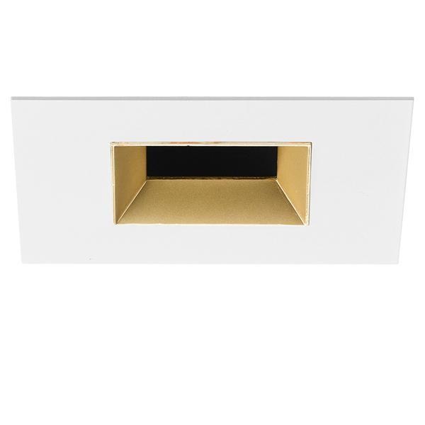 Flos Architectural Light Sniper Fixed Square NO DIM CRI80 AN 03.4631.GLA Mattiert gold