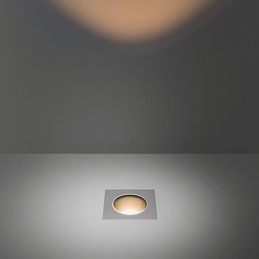 Modular Lighting Hipy Square 110x110 Anti Glare IP67 LED GE MO 12346105 Aluminium