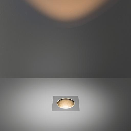 Modular Lighting Hipy Square 110x110 IP67 LED GE MO 12346505 Aluminium