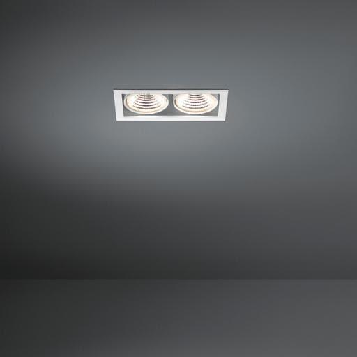 Modular Lighting Mini Multiple 2x Led MO 11434709 Weiß strukturiert