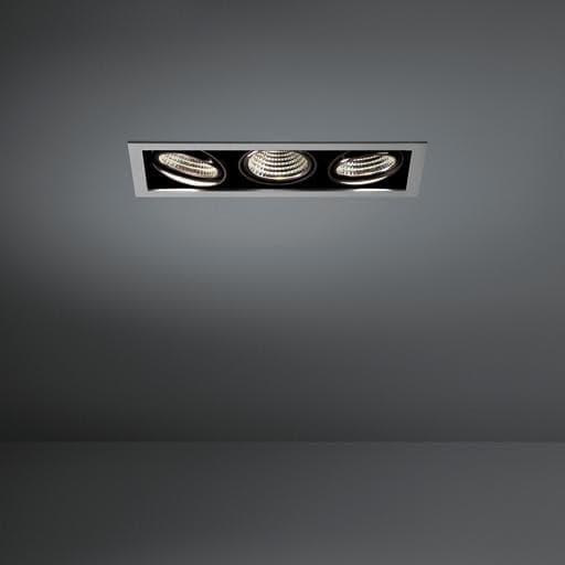 Modular Lighting Mini Multiple 3x Led MO 11434905 Aluminium / Schwarz