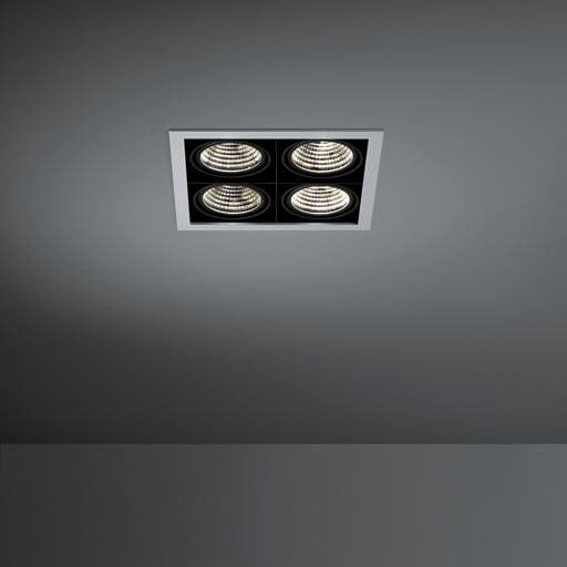 Modular Lighting Mini Multiple 4x Led MO 11435105 Aluminium / Schwarz