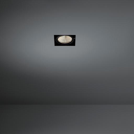 Modular Lighting Mini Multiple Trimless 1x Led 1-10V/Pushdim MO 11441009 Blanc structuré